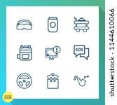 modern  simple vector icon set... | Shutterstock .eps vector #1144610066