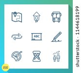 modern  simple vector icon set... | Shutterstock .eps vector #1144618199