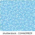 blue tile bathroom or pool... | Shutterstock .eps vector #1144639829