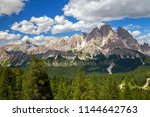 summer landscape in the... | Shutterstock . vector #1144642763