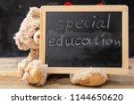 Special education. teddy bear...