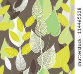 Abstract Foliage Seamless...