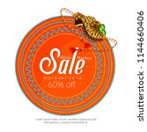 creative sale abstract or... | Shutterstock .eps vector #1144660406