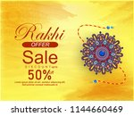 creative sale abstract or... | Shutterstock .eps vector #1144660469