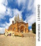the temple del sagrat cor ... | Shutterstock . vector #114468940