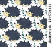 seamless vector pattern with...   Shutterstock .eps vector #1144706666