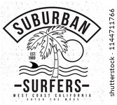 surf graphics for apparel | Shutterstock .eps vector #1144711766