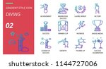 success icon pack gradient... | Shutterstock .eps vector #1144727006
