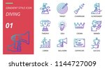 success icon pack gradient... | Shutterstock .eps vector #1144727009
