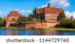 teutonic castle in malbork | Shutterstock . vector #1144729760