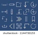 set of 20 icons such as minus ...