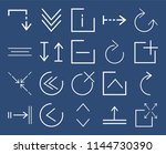 set of 20 icons such as expand  ... | Shutterstock .eps vector #1144730390