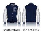 varsity jacket design...   Shutterstock .eps vector #1144751219