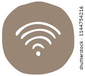 wi fi icon vector illustration... | Shutterstock .eps vector #1144754216