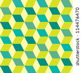green retro seventies inspired... | Shutterstock .eps vector #114476470