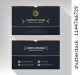 business model name card luxury ... | Shutterstock .eps vector #1144766729