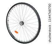 bicycle wheel  3d rendering... | Shutterstock . vector #1144768700