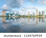 View Business District Marina Bay - Fine Art prints
