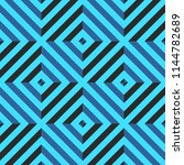 seamless pattern with rhombus... | Shutterstock .eps vector #1144782689