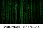 Digital Background Green Matrix....