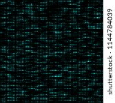 halftone pattern. corrupted... | Shutterstock .eps vector #1144784039