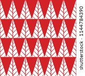 red seamless vector pattern... | Shutterstock .eps vector #1144784390
