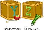 illustration of wood blocks...   Shutterstock .eps vector #114478678