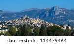 view of Marseiille, France - stock photo
