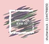 vector modern bright frame for... | Shutterstock .eps vector #1144798850