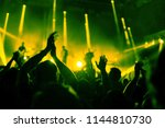 applause  crowd of people... | Shutterstock . vector #1144810730