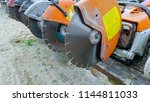profile on the blade of an...   Shutterstock . vector #1144811033