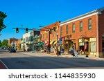 hudson  oh   july 28  2018 ...   Shutterstock . vector #1144835930