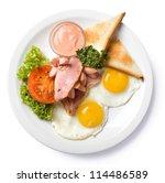 English Breakfast Isolated Top...