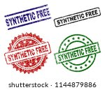 synthetic free seal prints with ...   Shutterstock .eps vector #1144879886