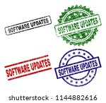 software updates seal prints... | Shutterstock .eps vector #1144882616