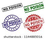 no poison seal prints with... | Shutterstock .eps vector #1144885016