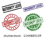 maternity leave seal prints... | Shutterstock .eps vector #1144885139