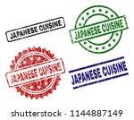 japanese cuisine seal prints...   Shutterstock .eps vector #1144887149