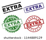 extra seal prints with damaged... | Shutterstock .eps vector #1144889129