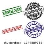european cuisine seal imprints...   Shutterstock .eps vector #1144889156
