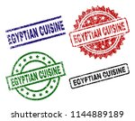 egyptian cuisine seal prints...   Shutterstock .eps vector #1144889189