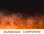 vector realistic isolated fire... | Shutterstock .eps vector #1144919240