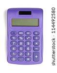 Image Of Violet Calculator...