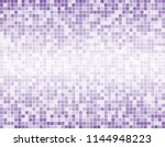 purple square mosaic tiles... | Shutterstock .eps vector #1144948223