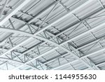 Arched Metal Sheet Roof With...