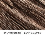 antique brown obsolete wooden... | Shutterstock . vector #1144961969