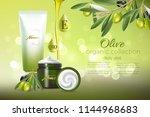 design cosmetics product... | Shutterstock .eps vector #1144968683