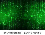 binary code background  digital ...   Shutterstock . vector #1144970459