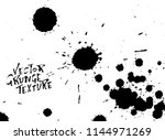 handdrawn grunge texture.... | Shutterstock .eps vector #1144971269