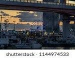 kobe  japan   november 15  2017 ... | Shutterstock . vector #1144974533